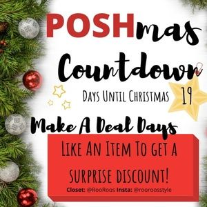 POSHmas Countdown Challenge! 19 Days Left!